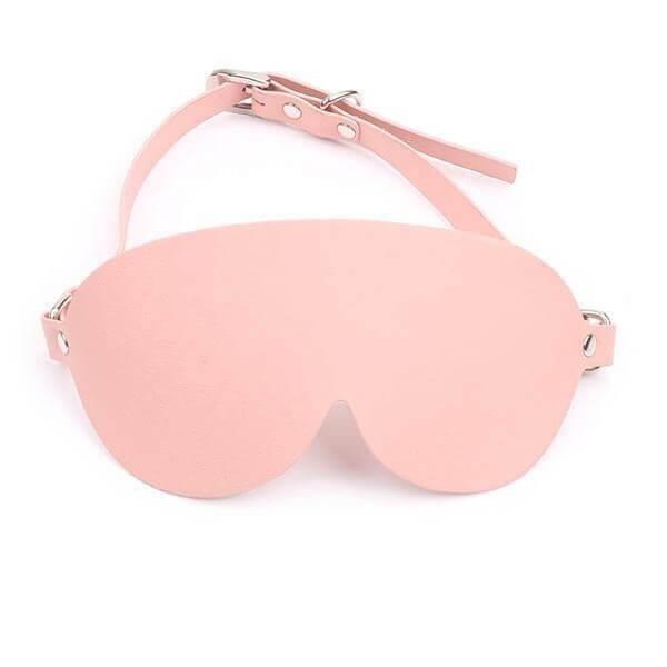 blindfold fra pink bondage sæt med rejsetaske fra playhard
