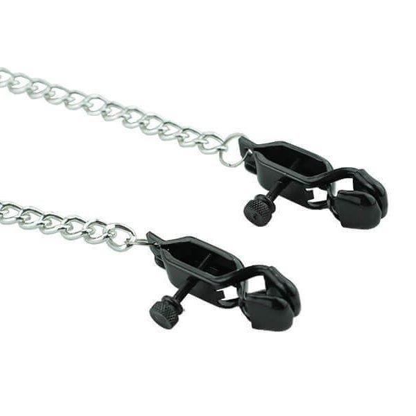 selvjusterende brystklemmer med kæde fra playhard