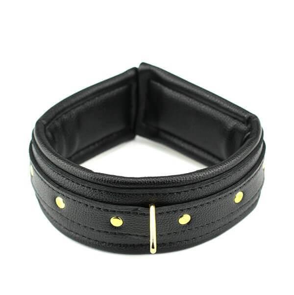 sort kvalitets halsbånd med kæde fra playhard