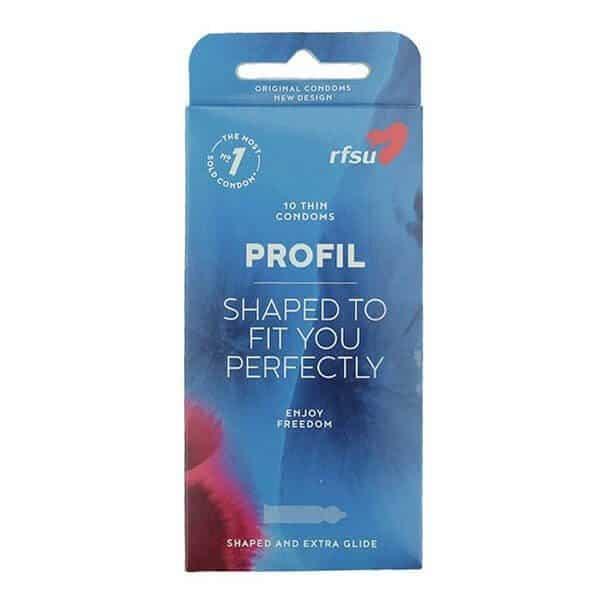 10 stk. profil kondomer fra RFSU
