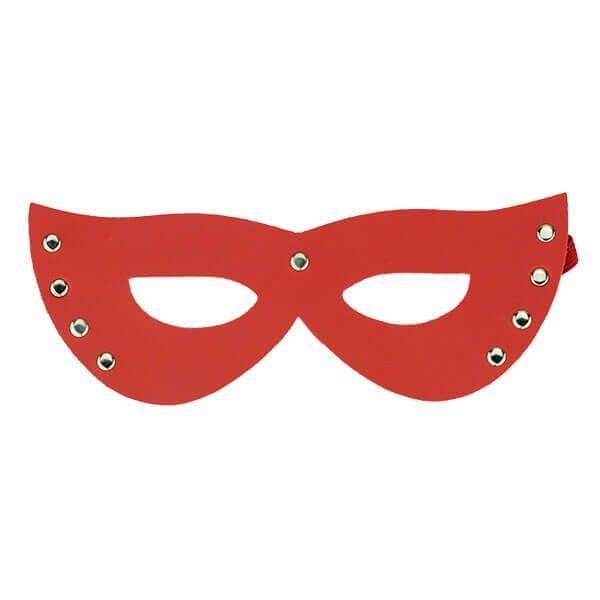 rød elegant bdsm maske fra safeword