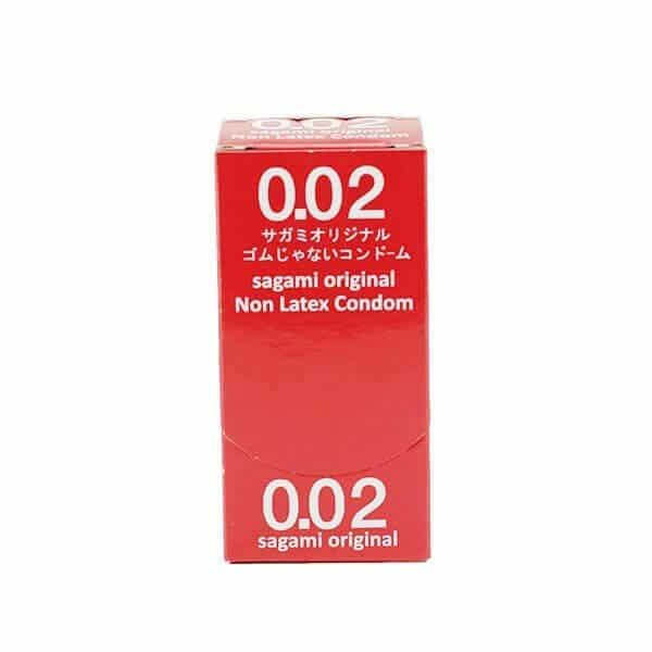12 stk. ultra tynde latexfri kondomer fra Sagami