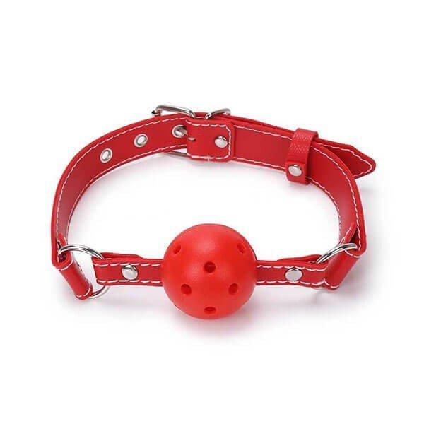 rød begynder gagball fra simplepleasure