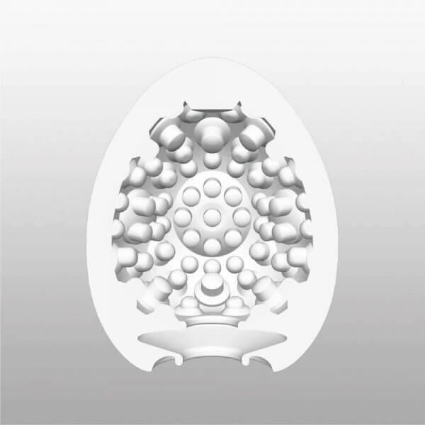 Mønsteret indvendigt i Tenga Clicker onani ægget