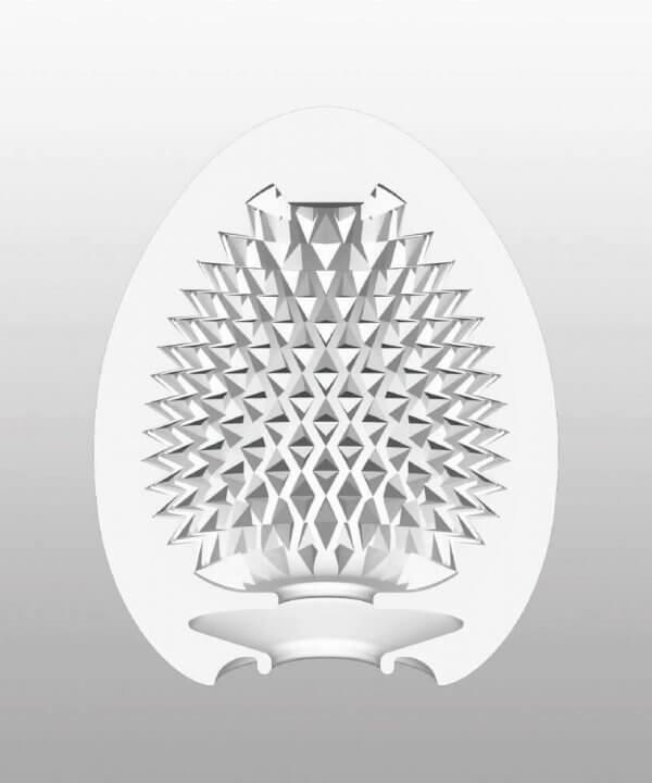 Illustration af indvendigt mønstre for Tenga - Misty onani æg HardBoiled