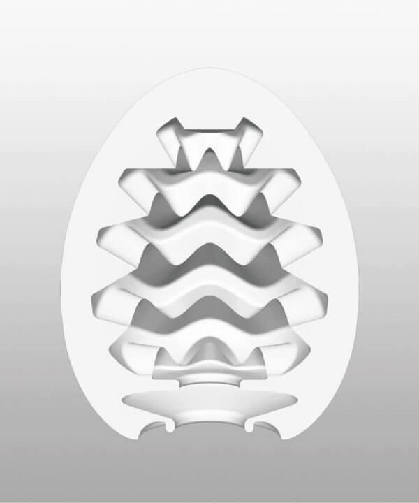 Indvendigt mønstre i Tenga - Onani Æg Cooling Effekt
