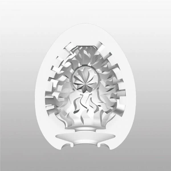 Indvendigt mønstre i Shiny onani ægget HardBoiled fra Tenga