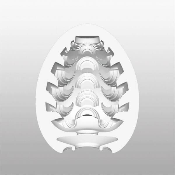 Mønsteret indvendigt i Stepper onani ægget fra Tenga