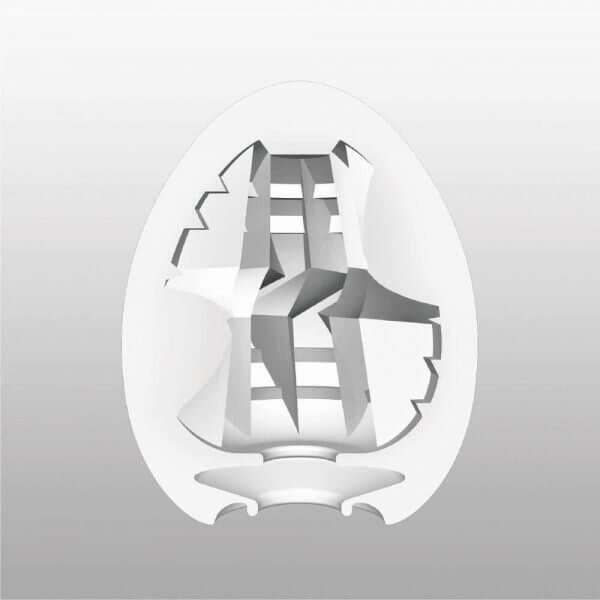 Indvendigt mønstre i Tenga - Thunder onani æg HardBoiled