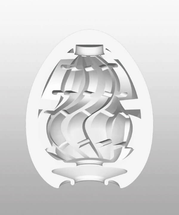 Indvendige mønstre i Twister onani ægget fra Tenga