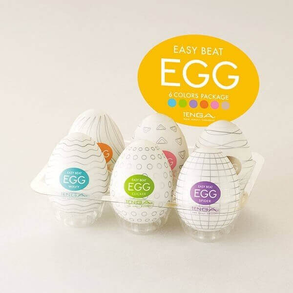 Tenga - Variant 6-Pack Onani Æg i indpakning