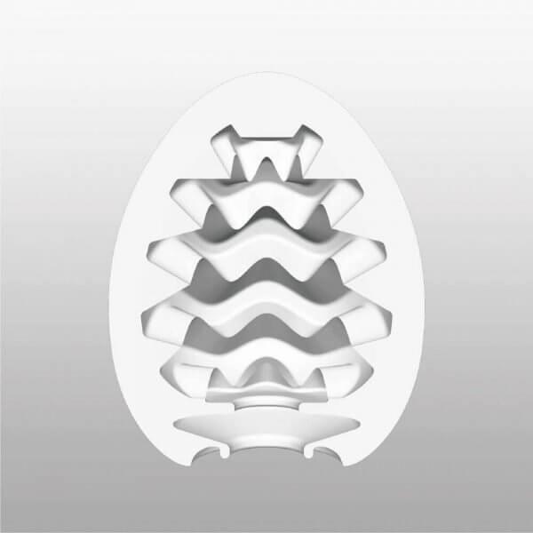 Indvendigt mønstre i Wavy onani ægget fra Tenga