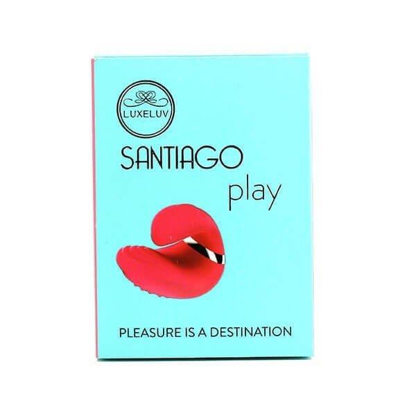 Rød finger vibrator santiago fra Wowyes til forspil i indpakning