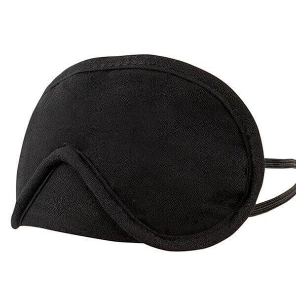 sort luksus blindfold fra cotelli sæt