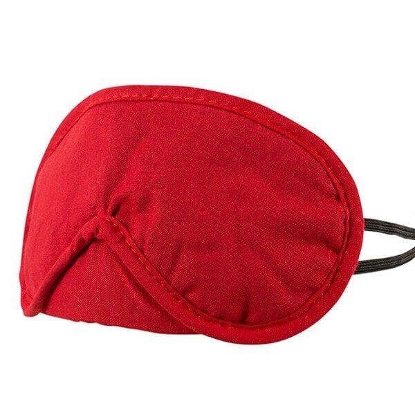 rødt luksus blindfold fra cotelli sæt