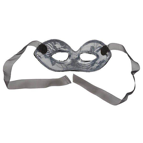 sort polyester maske lace fra cottelli