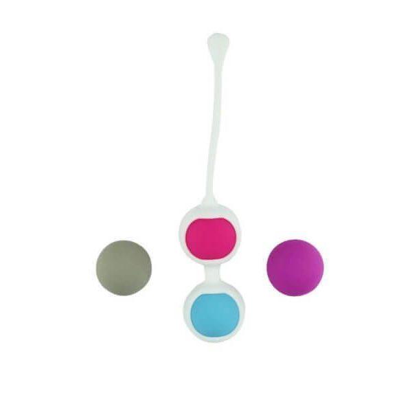 4 Bækkenbundskugle (flere farver) sæt fra DreamDirty