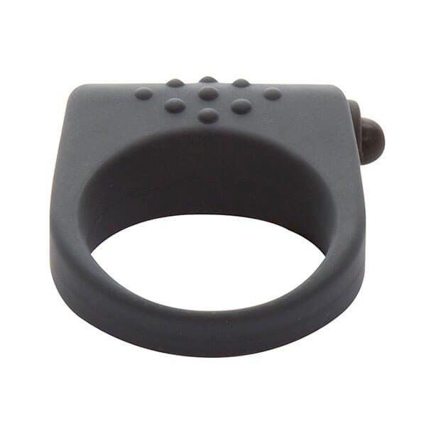 Sort silikone penisring med vibrator secret weapon fra fifty shades of grey