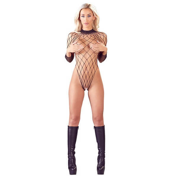 Mandy Mystery – Bundløs Net Bodystocking