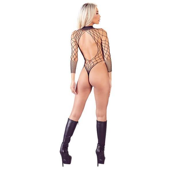 Mandy Mystery – Bundløs Net Bodystocking