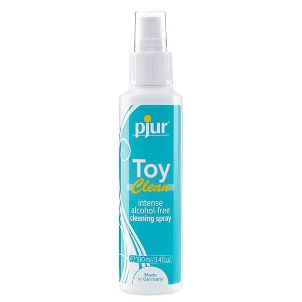 100 ml sexlegetøj rensevæske i spray fra Pjur