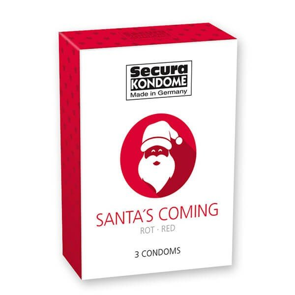 Secura Kondome – Santa's Coming Kondomer 3 stk