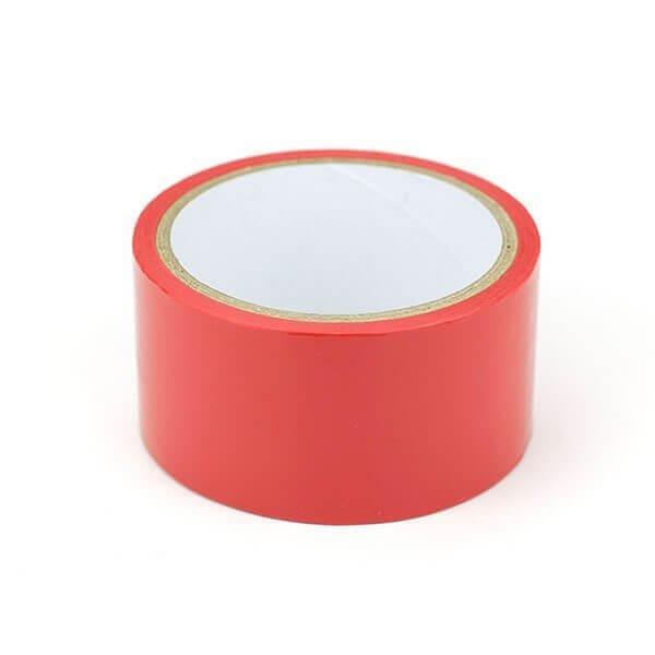 rødt selvklæbende bondage tape fra simplepleasure