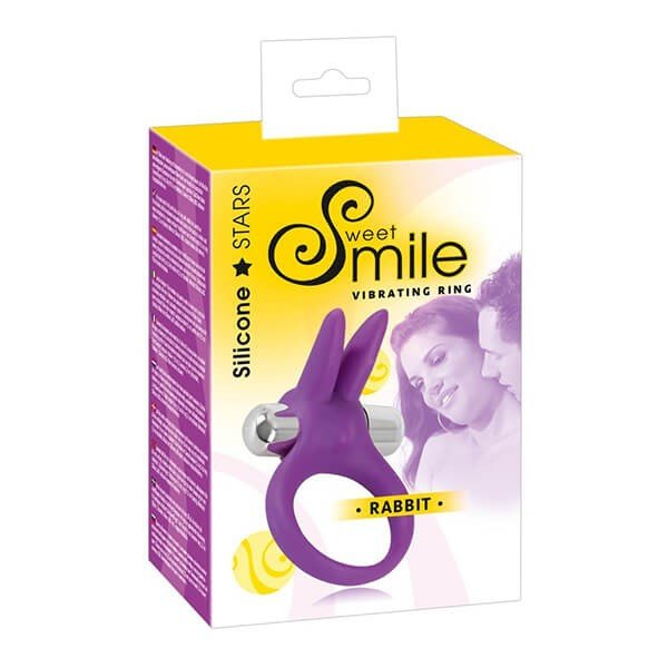 Sweet Smile – Rabbit Penisring Vibrator