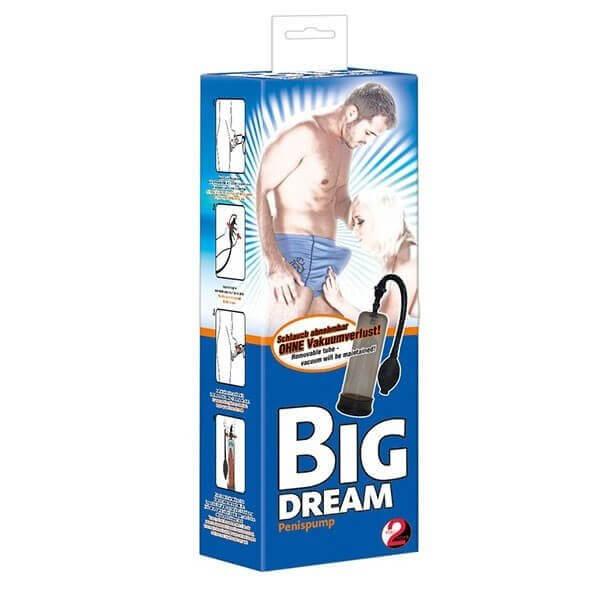 Big Dream Penis Pumpe med håndpumpe fra you2toys