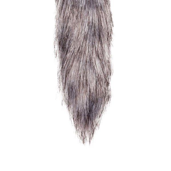 fox tail buttplug med rævehale fra easytoys