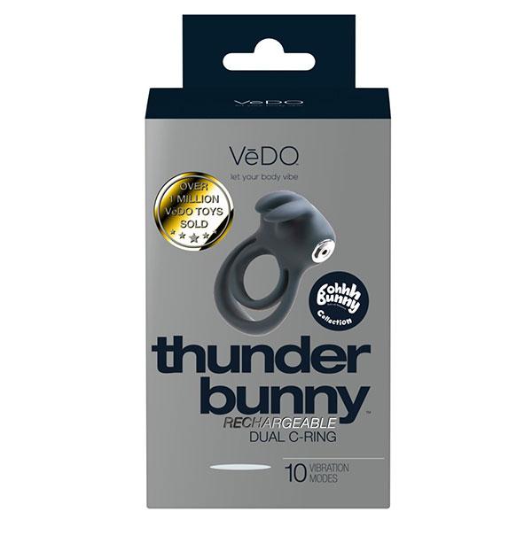 VeDO – Thunder Bunny Genopladelig Penisring1