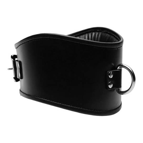 Strict-Leather-Læder-BDSM-Halsbånd-med-Front-Ring-01