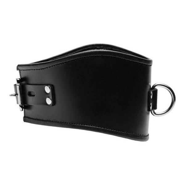 Strict-Leather-Læder-BDSM-Halsbånd-med-Front-Ring-02