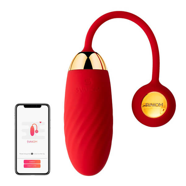 Køb Svakom – Ella Neo Fjernstyret Vibrator Æg (App-styret)
