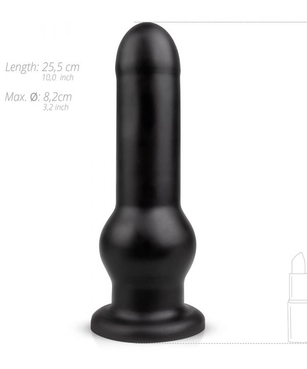 BUTTR-Tactical-Stor-Anal-Dildo-med-Sugekop-25-cm-05